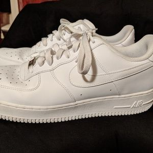 Nike Air Force Ones 82 White Size 11.5